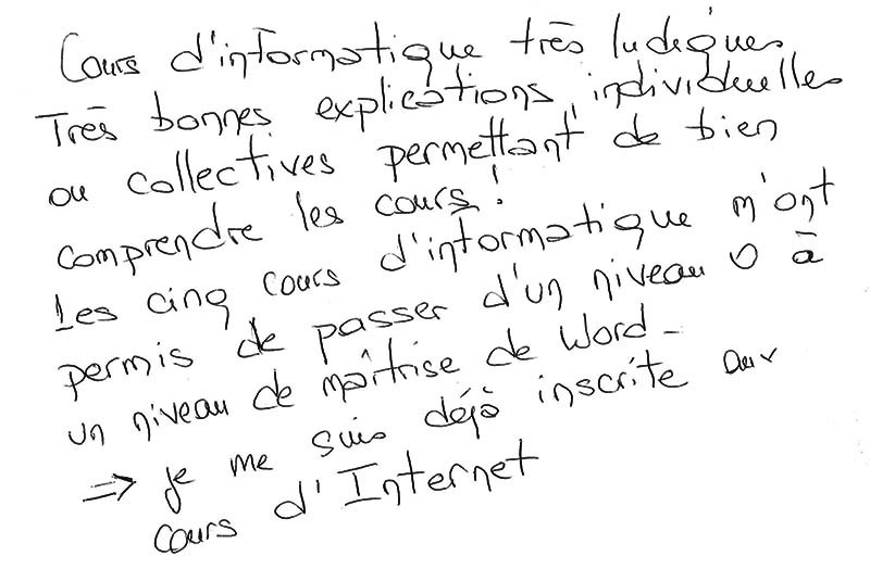 Stage d'initiation à l'informatique pour débutants